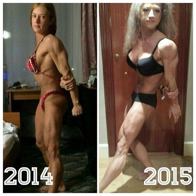 Aleksandra Rudenko, 24, šokovala své fanoušky proměnou, která se s ní stala během jednoho roku.