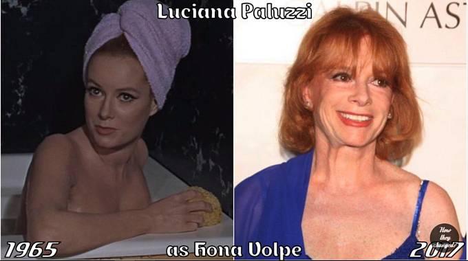 Herečka Luciana Paluzzi coby Fiona Volpe