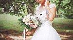 Jako nevěsta byla Malin Nunez nádherná.