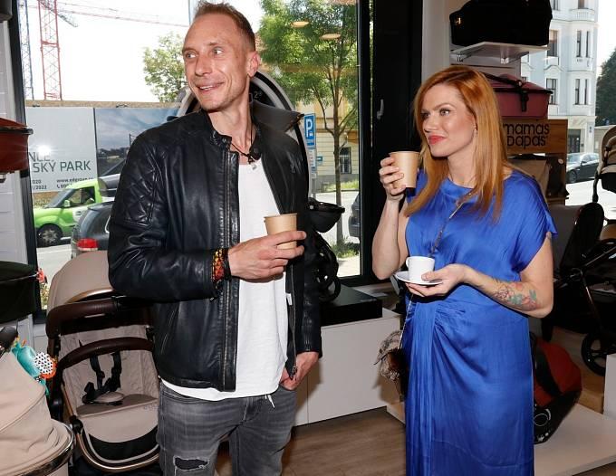 Gabriela Soukalová s přítelem Milošem.