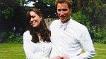 Společné foto Kate a Williama z června 2005