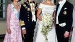 Královská svatba se těšila velké pozornosti.