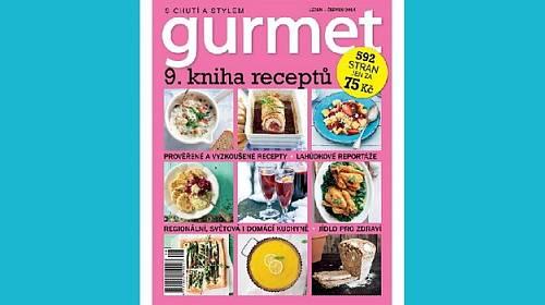 Vychází senzační kniha časopisu Gurmet
