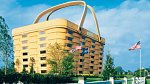 <p>Centrální budova s ředitelstvím továrny na výrobu košíků ve městě Newark v americkém státu Ohio</