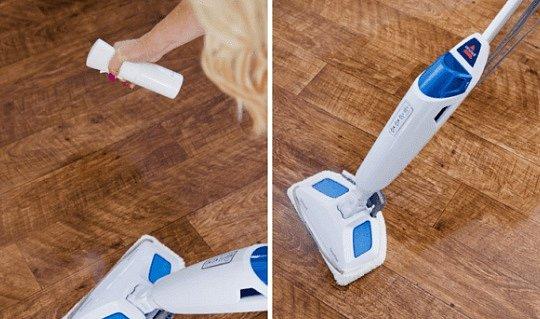 Vyčistěte celý byt či dům.