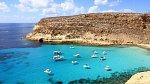 CONIGLI (RABBIT BEACH), Lampedusa, Sicílie, Itálie