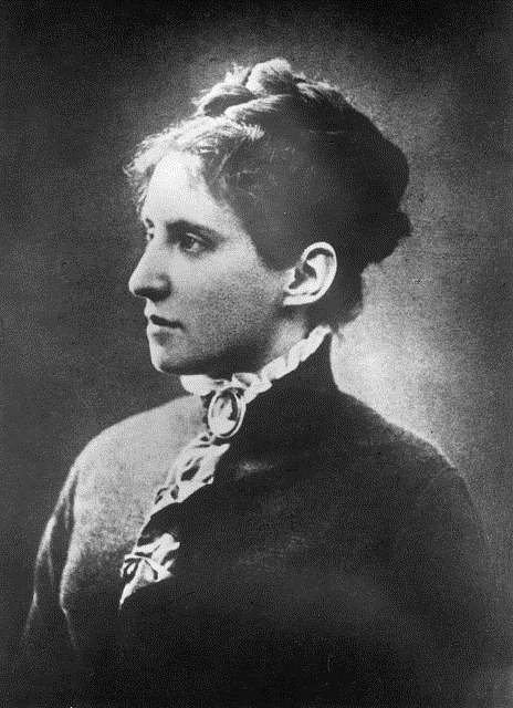 Charlotta Garrigue-Masaryková, manželka Tomáše Garriguea Masaryka
