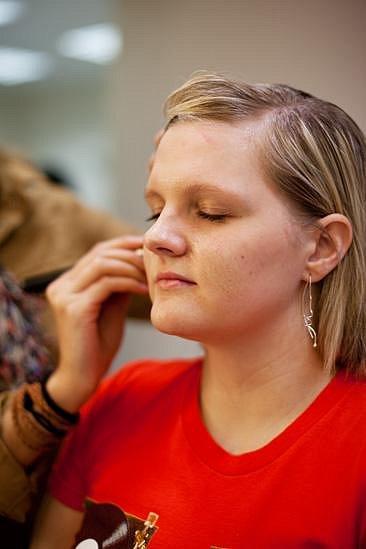 """Iveta (21):""""Ráda bych zůstala blond."""""""