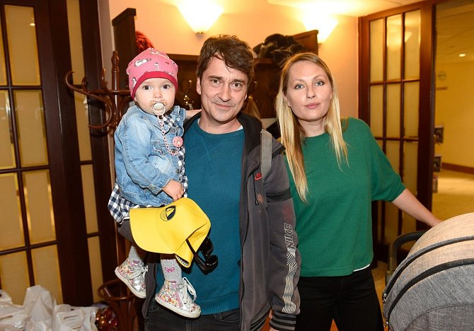 Saša s manželkou Lídou a dcerou Maruškou