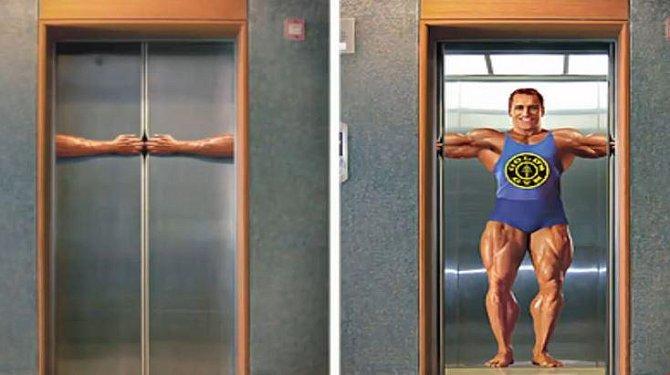 40 vtipných výtahů, ve kterých se budete toužit svést!