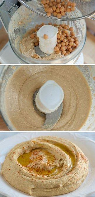 Základní recept na hummus.