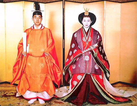 Svatba japonského císaře Akihita
