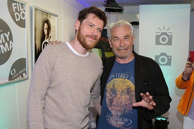 David Švehlík s otcem Aloisem