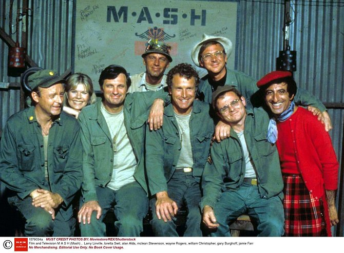 Herci z kultovního seriálu M.A.S.H. - původní sestava