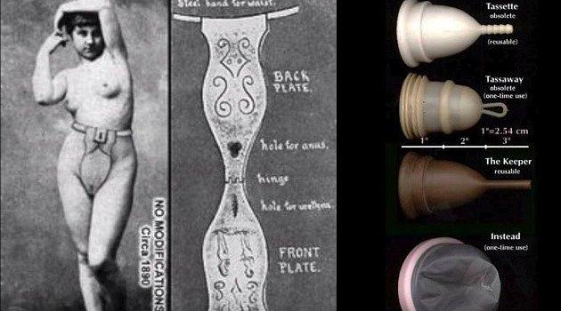 Šokující praktiky řešení menstruace v průběhu historie