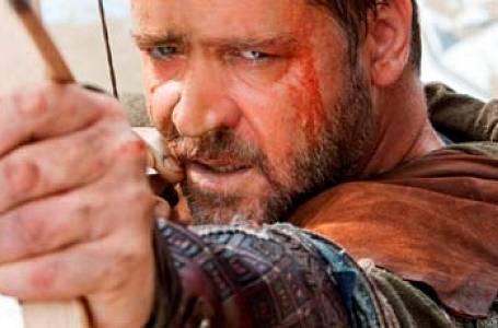 V nejnovější filmové verzi příběhu Robina Hooda si zahrál Russell Crowe