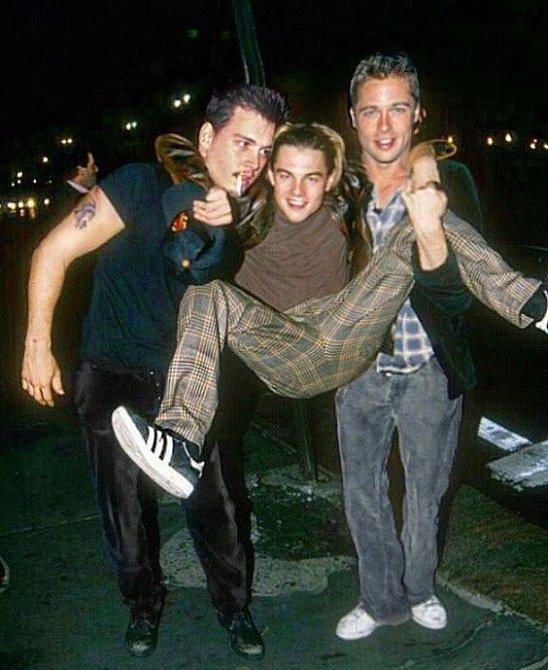 DiCaprio, Depp a Pitt - nerozlučná trojka.