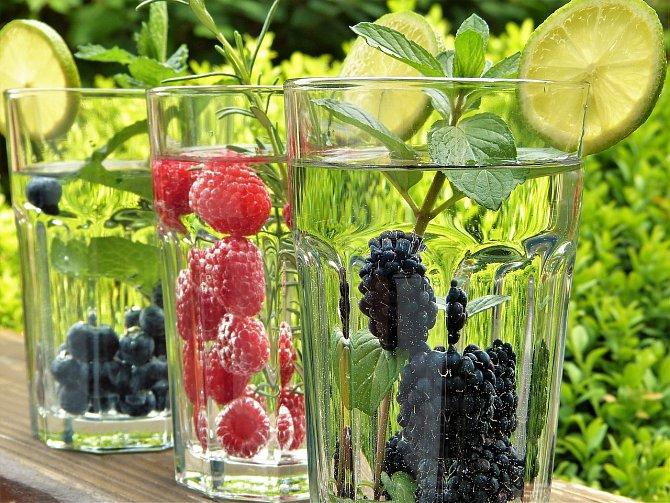 Ovoce a bylinky jsou cestou z cukrového pekla.