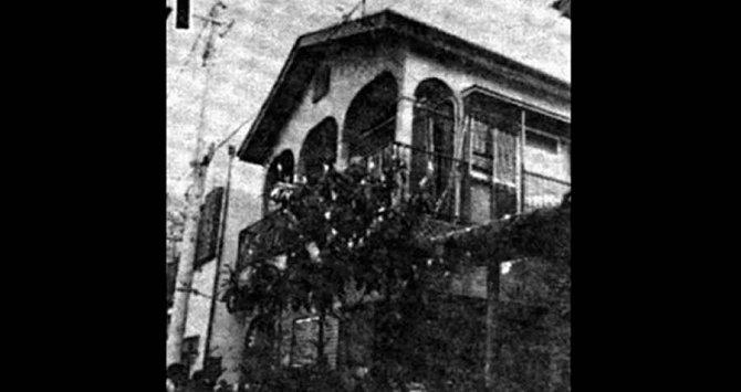 Dům ve kterém se všechno odehrálo.