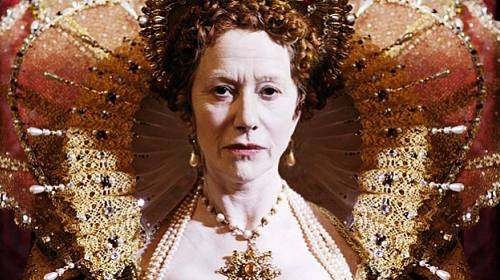Helen Mirren v roli Alžběty I.