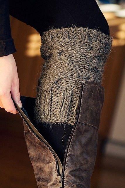 Proč si rukáv od svetru nenavléknout na nohy?