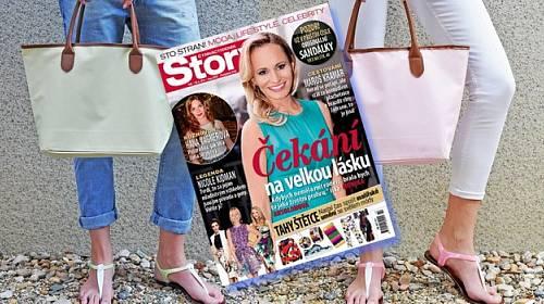 Kupte si Story a získejte kabelku & sandálky