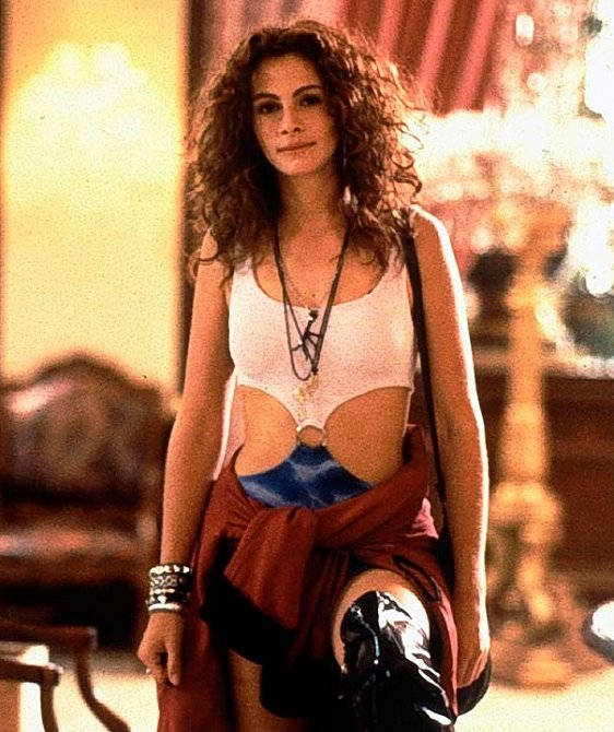 Julia Roberts ve filmu Pretty Woman