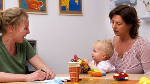 S dítětem u psychologa