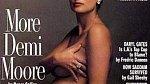Demi Moore a její legendární titulní strana.
