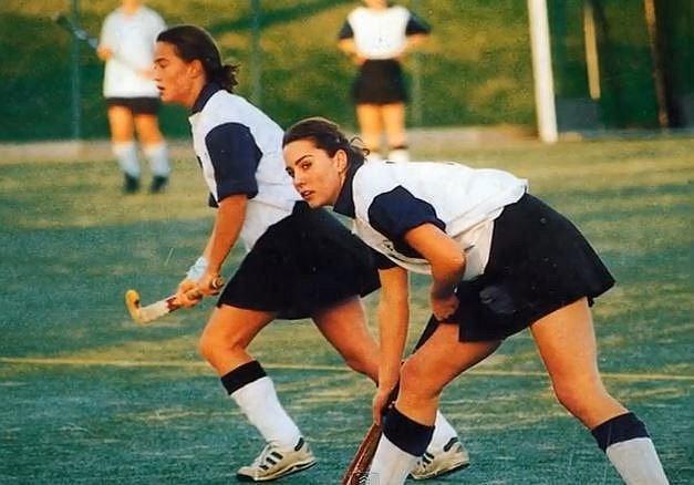 Kate se vždy věnovala sportu.