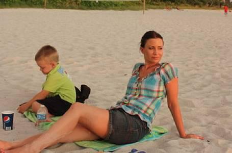 Partyšová se synem řádila na Floridě
