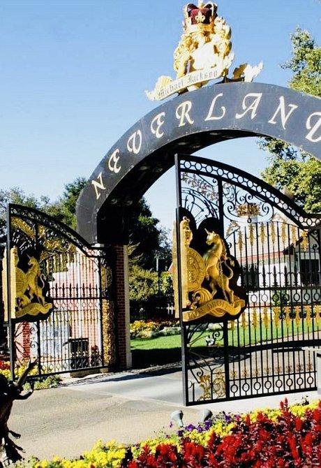Brána na ranč Neverland
