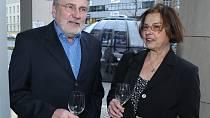 Jiří Štěpnička s manželkou Janou