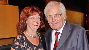 Saskia Burešová s manželem