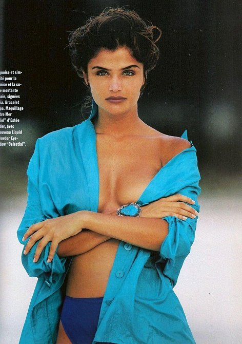 Helena Christensen na snímku z roku 1992