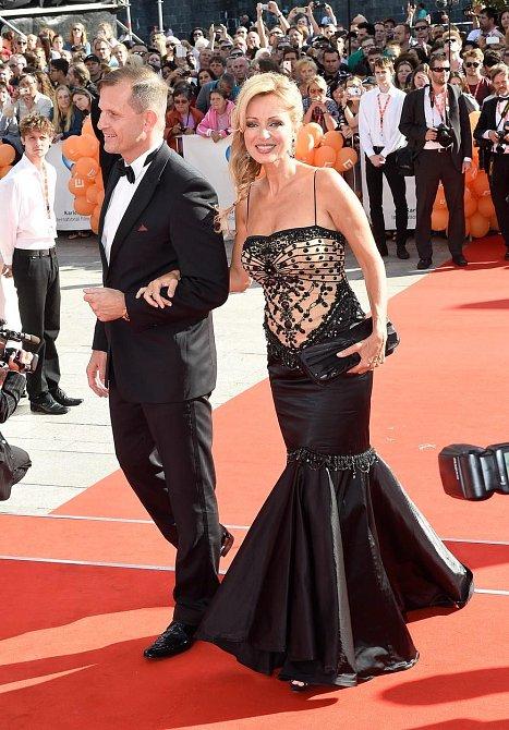 Kateřina Brožová s partnerem.