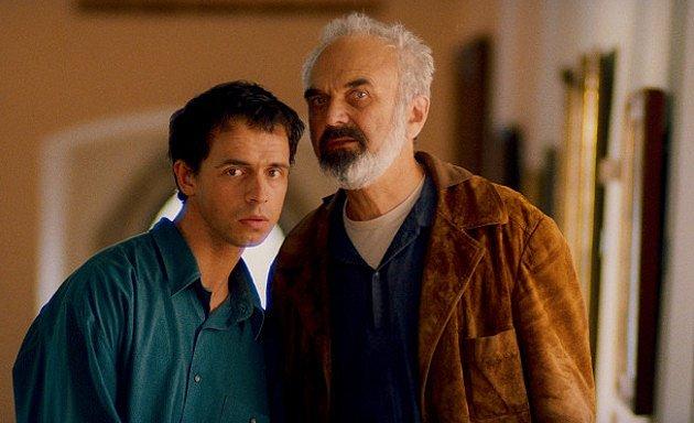 Petr Forman se Zdeňkem Svěrákem ve snímku Akumulátor 1