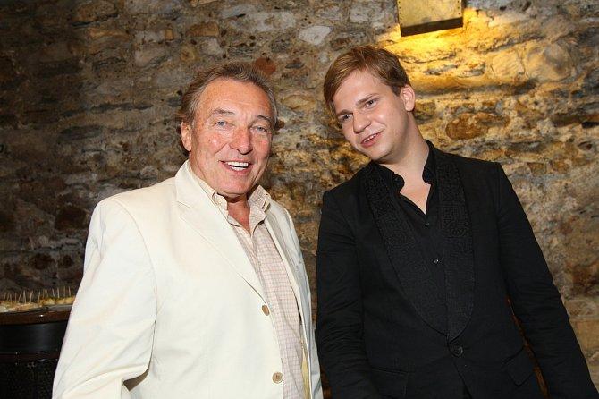 Martin Chodúr s Karlem Gottem