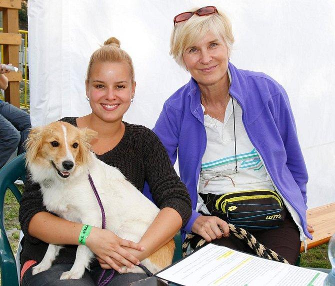 Patricie Solaříková s maminkou Helenou