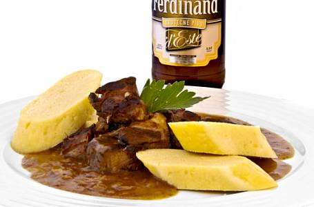 Pivní speciality: Vepřové, kuře i polévka
