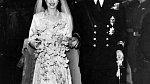 Královna Alžběta II. s manželem princem Philipem