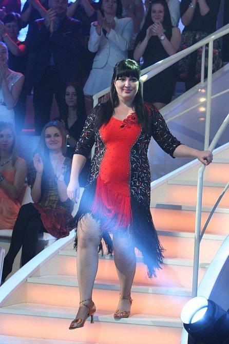 Ivana Christová ve slovenské obdobě Stardance, když hvězdy tančí.
