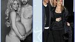 Shakira měsíc po porodu