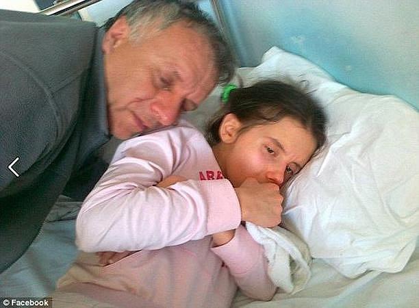 Danijela se svým tatínkem