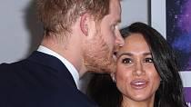 Vévodkyně Meghan a její současný manžel princ Harry