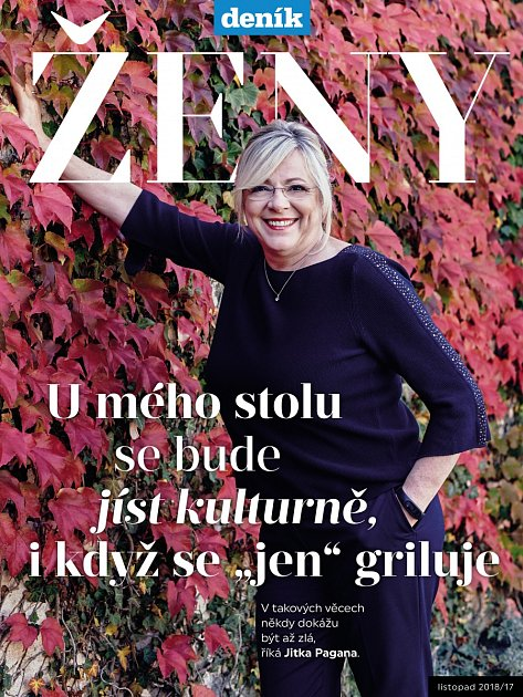 Deník Ženy - listopadové číslo