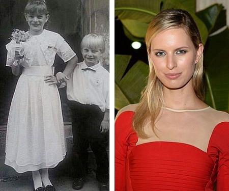 I jako malá dívka byla roztomilá.