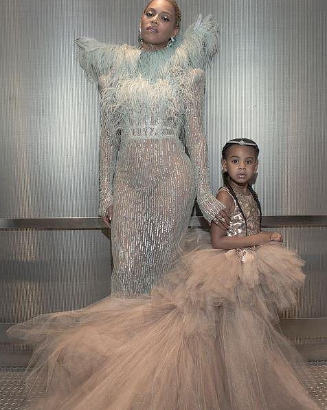 Beyoncé s dcerou