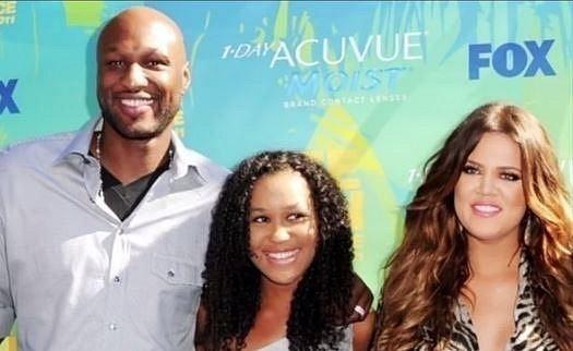 Lamar si později vzal Khloe Kardashian.