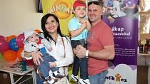 Andrea Kalivodová s manželem a syny